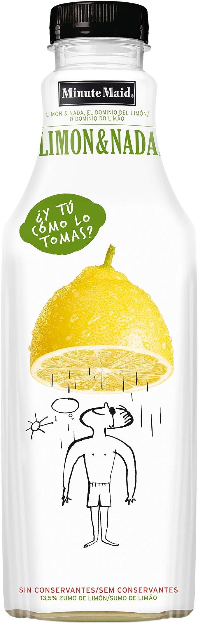 MINUTE MAID bebida de zumo de limón concentrado botella 1 lt ...