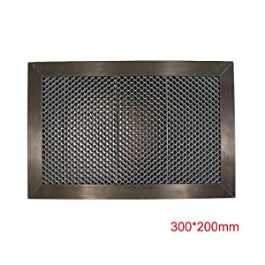 Honeycomb Laser Engraver Working Table 11.81x7.87 inch for CO2 Laser Engraver Cutting Machine 200x300mm,DHL,4-7 Business Days
