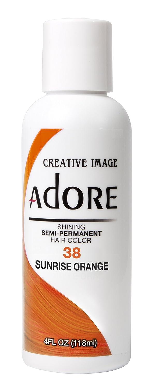 Creative Image Adore Shining Semi-Permanent Hair Color 38 Sunrise Orange 118ml AD-38