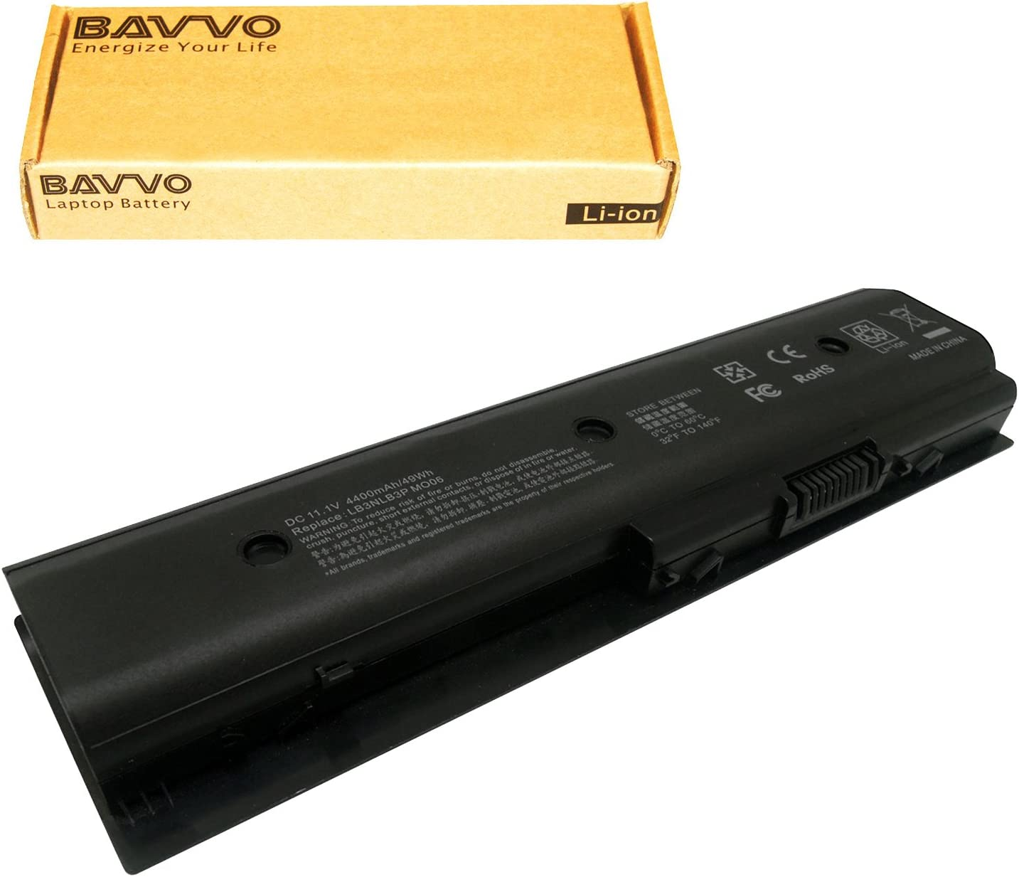 Bavvo Battery Compatible with Envy dv6-7210us