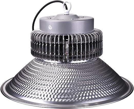 Campana Industrial 200 Vatios LED Naves industriales Gimnasios Supermercados Talleres Mécanicos Almecenes 100Lm/w (K6000): Amazon.es: Iluminación