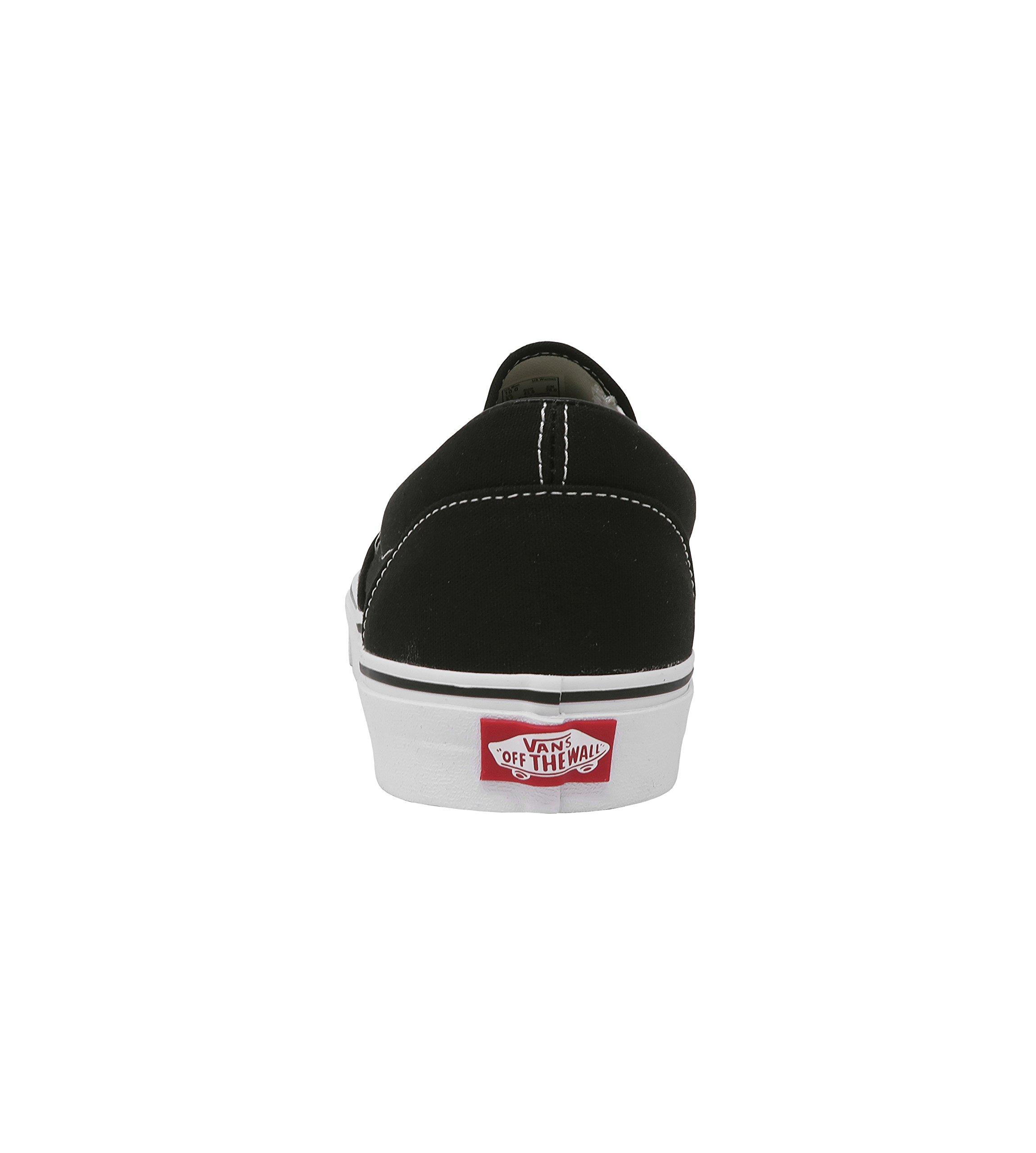 Vans U Classic Slip-On Skate Shoe Black 9.5 D(M) US by Vans (Image #5)