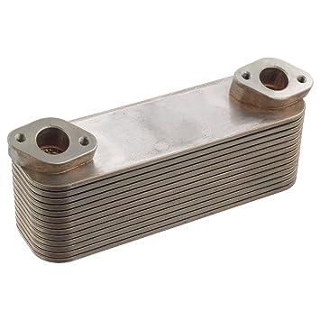 Febi-Bilstein 21051 Radiador de aceite, aceite motor: Amazon.es: Coche y moto