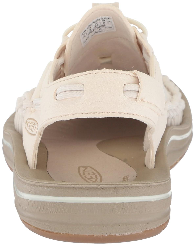 KEEN Women's Uneek-W Sandal B071RCQYVB 7.5 B(M) US|Whitecap/Cornstalk