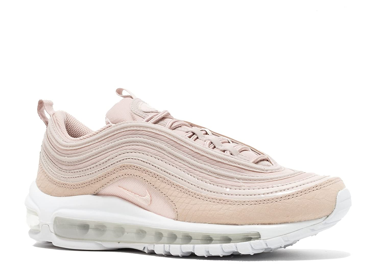 the best attitude e95a3 968e5 Nike women's Air Max 97 premium running shoes, Rosa (Siltstone Red/White/Black):  Amazon.co.uk: Sports & Outdoors