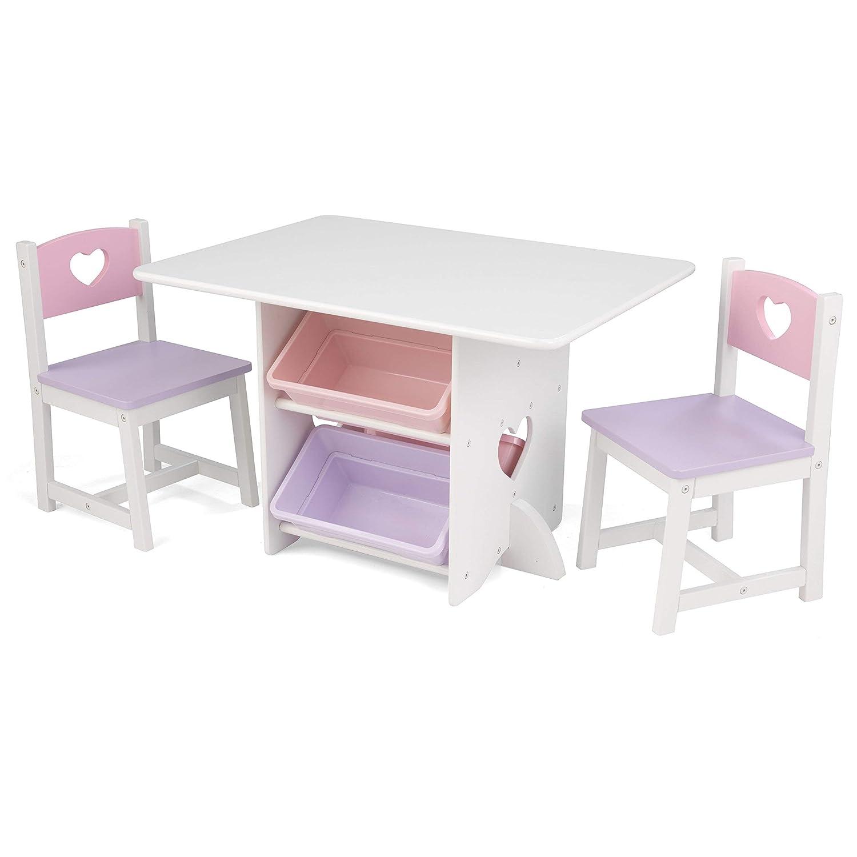 Kidkraft Heart Table and Chair Set Renewed