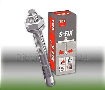 Tox S Fix Plus 1 10x85 Bolzenanker Verzinkt Option 1 Ankerbolzen