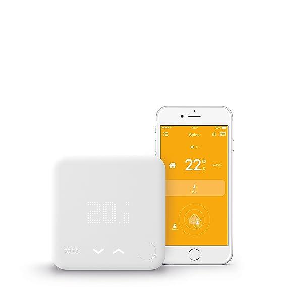Tado ° termostato inteligente - Control de calefacción inteligente por géolocalisation Via Smartphone, blanco, SK-ST01IB01-TC-FR-03: Amazon.es: Bricolaje y ...