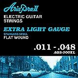 AriaProII アリアプロツー エレキギター弦 Flat Wound フラットワウンド Extra Light エクストラライト AGS-900XL