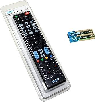HQRP Mando a distancia universal para LG 55UC970V / 65UC970V / 79UB980V / 84UB980V / 98UB980V Televisor UHD (4K) con Smart TV: Amazon.es: Electrónica