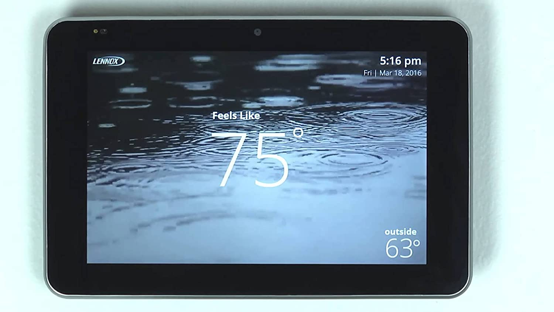 Lennox 12U67 iComfort S30 Termostato programable ultra inteligente, Geo-Fencing, acceso remoto, Wi-Fi y Alexa habilitado: Amazon.es: Bricolaje y herramientas