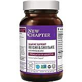 New Chapter Reishi Mushroom - LifeShield Immune Support with Organic Reishi Mushroom Vegan + Non-GMO Ingredients - 120 ct