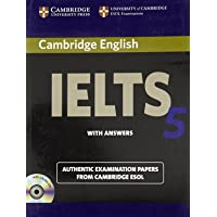 Camb English Ielts 5: with Answer Book with 2Acds (South Asian Ed)