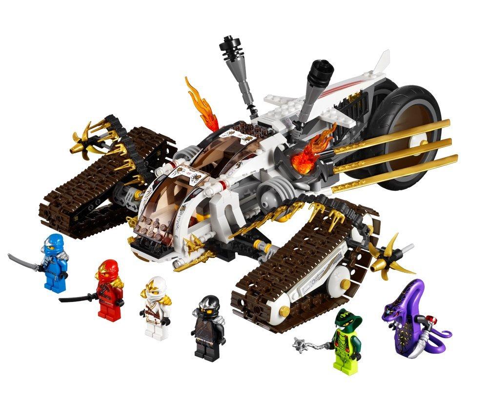 lego ninjago playthme 9449 jeu de construction le tout terrain ultrasonique amazonfr jeux et jouets