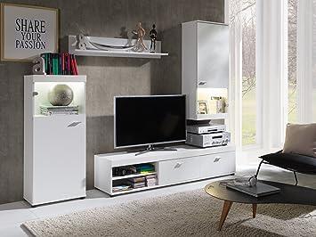 Home Direct Eva Elegantes Wohnzimmer Wohnmobel Vitrinenschranke
