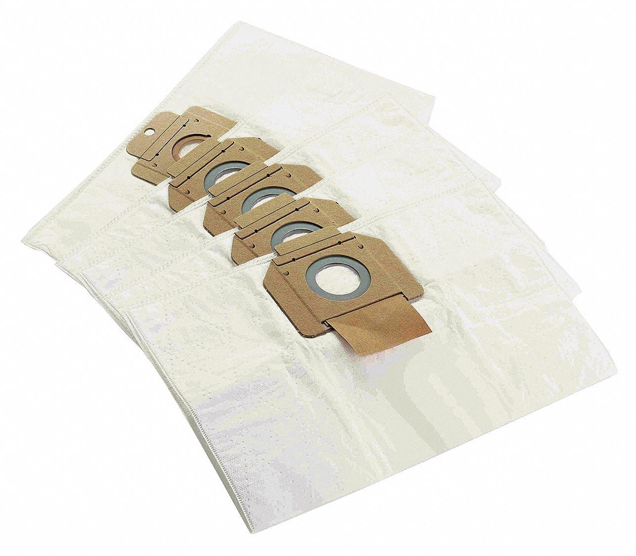 17''W x 2''H HEPA Wet/Dry Filter Bag, 1EA