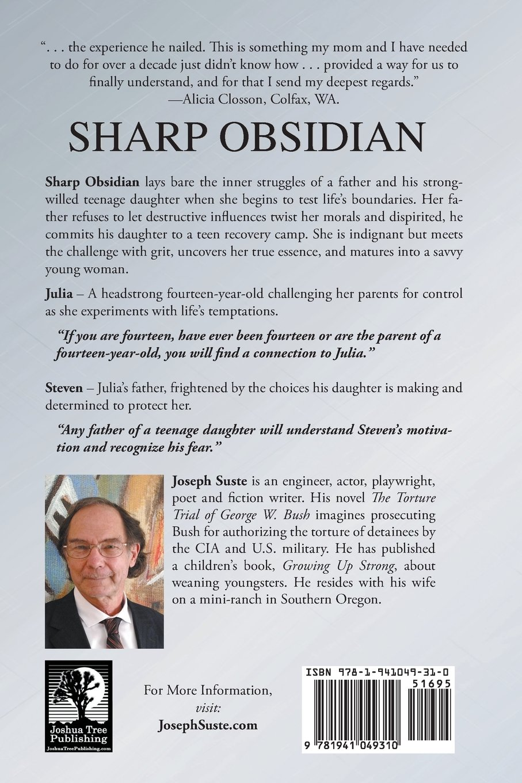 Sharp Obsidian: Joseph Suste: 9781941049310: Amazon com: Books