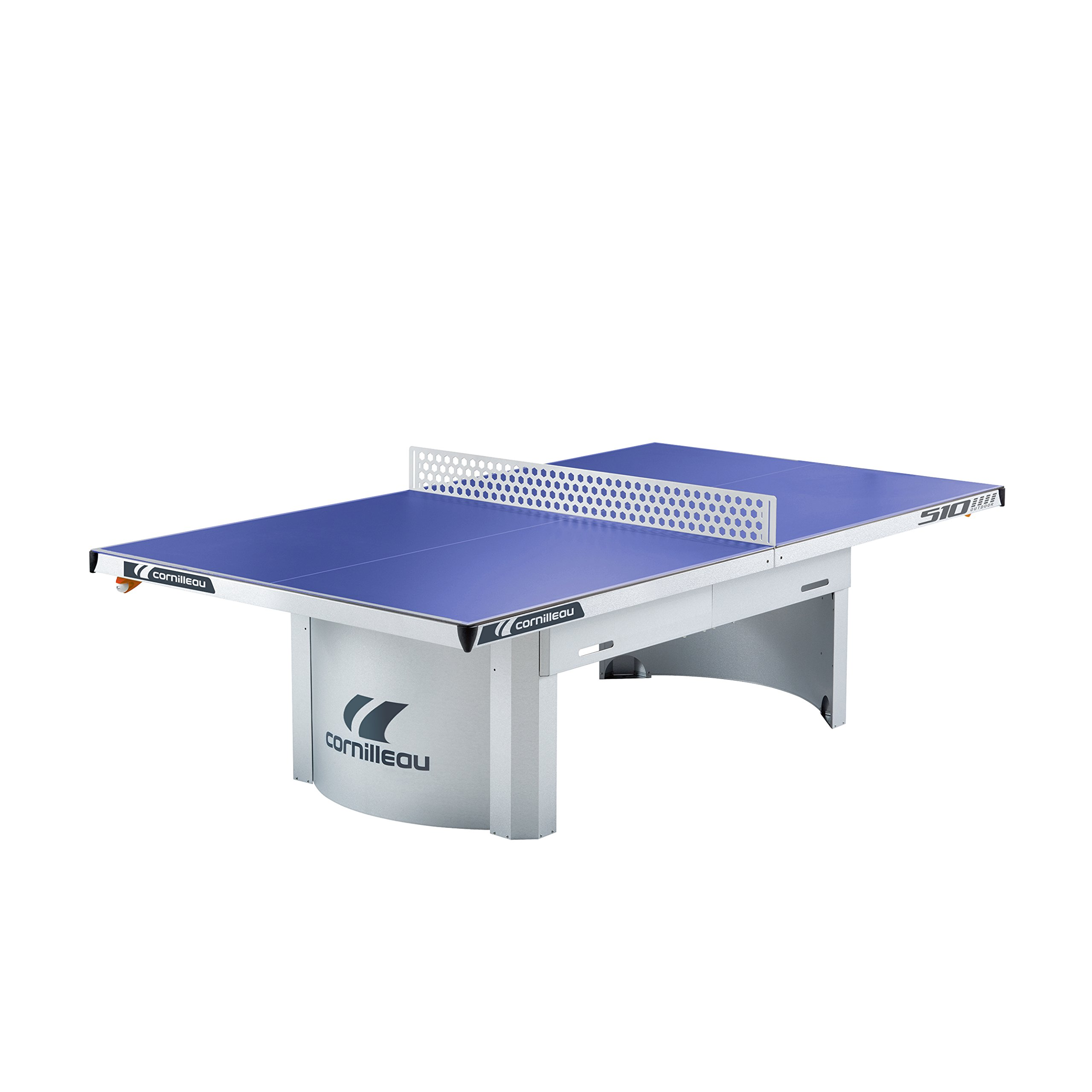 Cornilleau 510M Outdoor Stationary Blue Table Tennis Table …