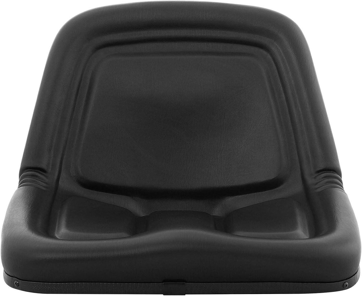 hillvert Asiento para Tractor Sill/ón HT-RUNDLE-6 Estructura de Acero//Polipropileno, Tapicer/ía de PVC, Impermeable, hasta 300 kg, 50 x 48,5 cm