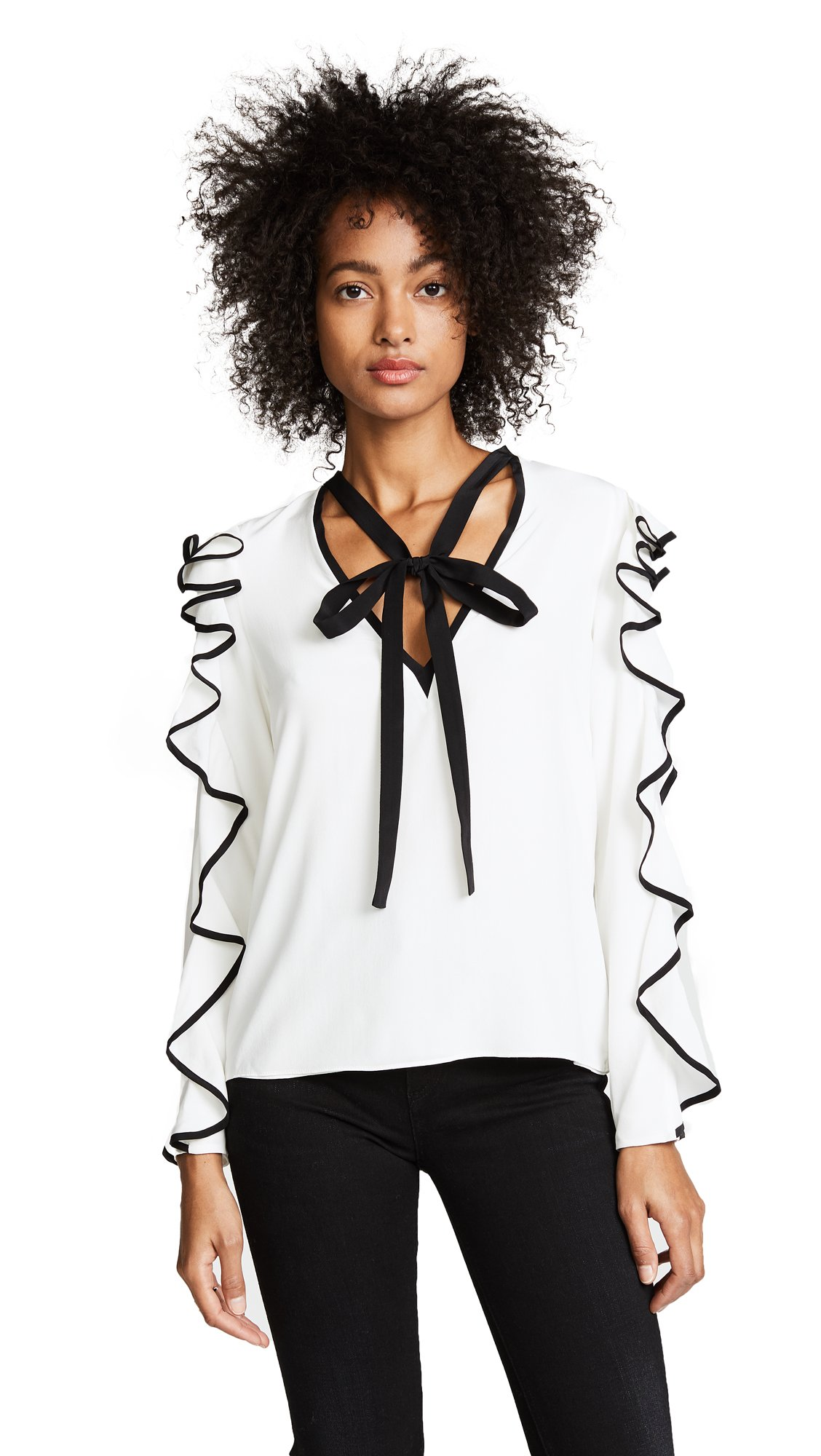 Alexis Women's Darcy Top, Off White, Medium by Alexis (Image #1)