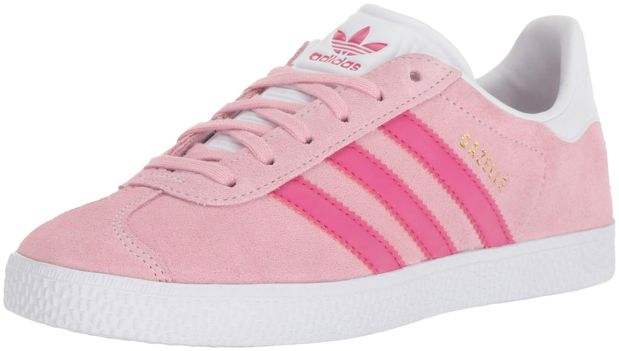 new concept c3d08 56d0c Galleon - Adidas Originals Unisex-Kids Gazelle Sneaker, Clear PinkReal  MagentaWhite, 6.5 M US Big Kid