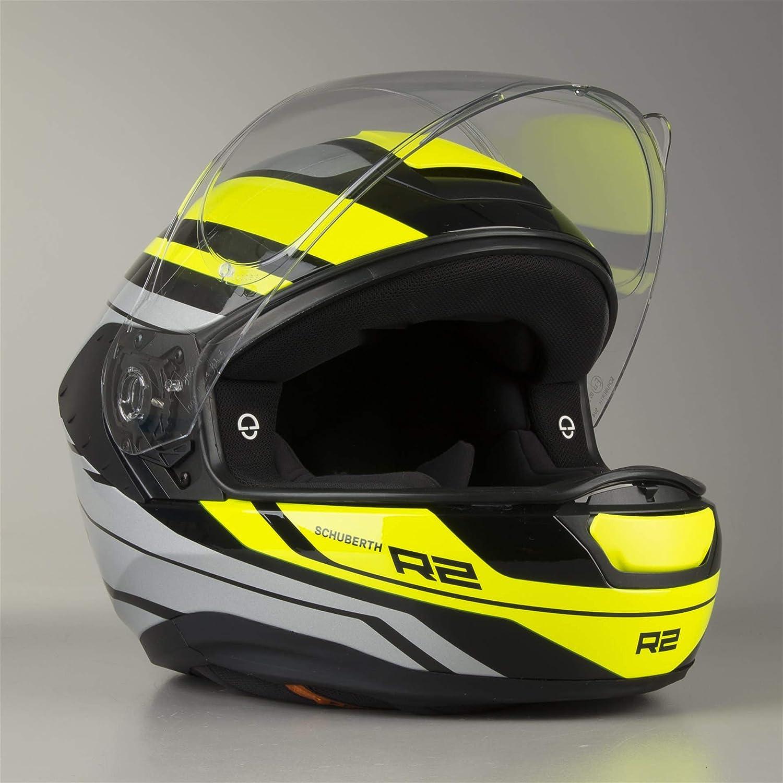 60//61 Schuberth R2 Traction Helm Orange XL