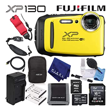 Fujifilm FinePix XP130 Cámara Digital Impermeable (Lima ...