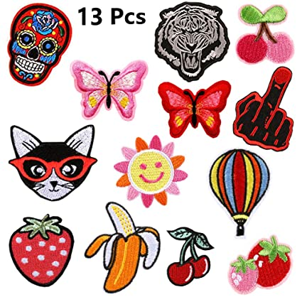 Confident New Arrival 10 Pcs Butterflies Embroidered Cartoon Patches Iron On Jeans Coat Tshirt Bag Shoe Hat Motif Emblem Accessory Diy High Quality And Inexpensive Home & Garden Arts,crafts & Sewing