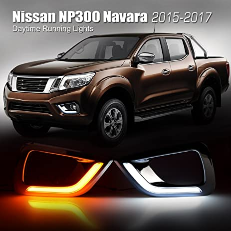 Amazon Allinoneparts Nissan Np300 Navara 2015 2016 2017 Led Drl