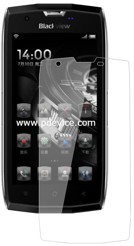 dipos I 2X Protector de Pantalla Compatible con Blackview BV7000 Pro Vidrio Flexible Cristal Proteccion 9H