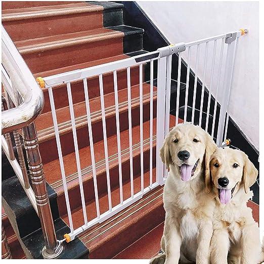 Barreras de puerta Puerta De Seguridad for Bebés For Pasillos Escaleras De Jardín Puertas Valla For Perros Mascotas 26.5-62.4 Pulgadas Extra Ancho Interior Anti-chimenea Barandilla De Aislamiento Jaul: Amazon.es: Hogar