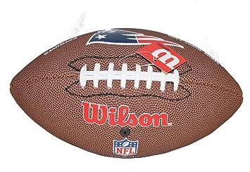 Bola de Futebol Americano Wilson NFL Team New England Patriots ... 80a2d487e5956