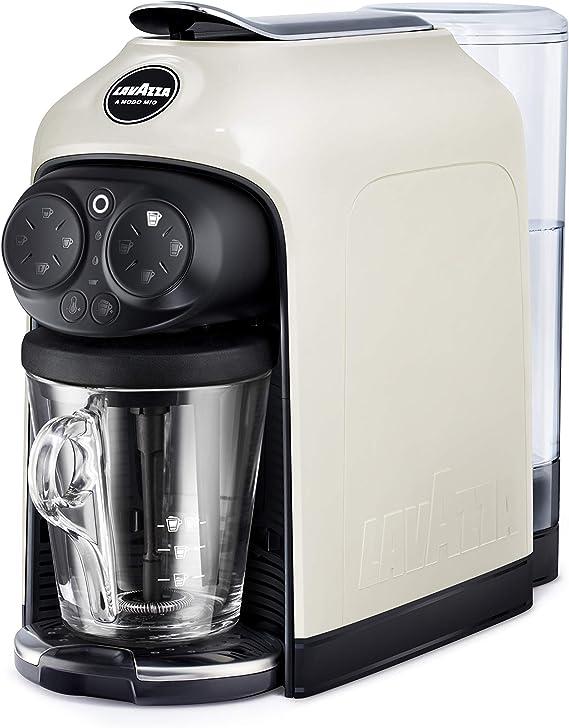 Lavazza A Modo Mio Deséa Cafetera Espresso a Cápsulas, 1500 W, ABS, White Cream: Amazon.es: Hogar