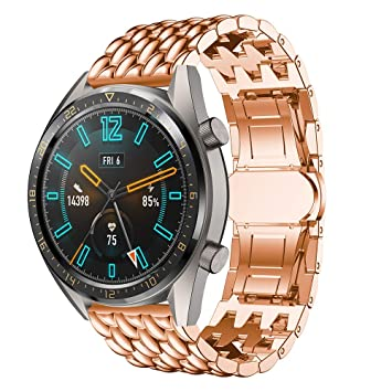 SongNi® for Huawei Watch GT/GT Active Straps Correas[Dragon ...