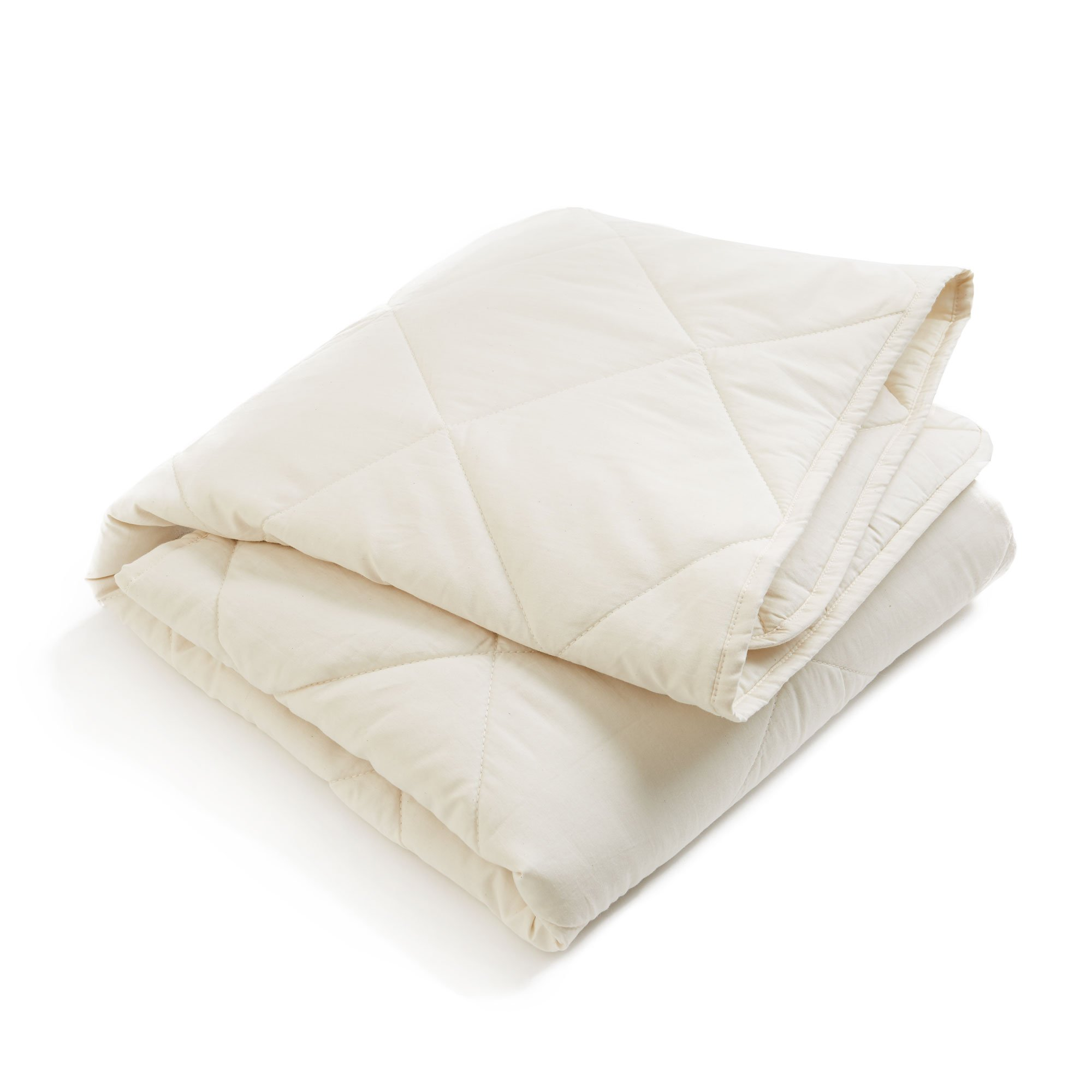Brooklyn Born Organic Quilt - All Natural, Ivory, One Size