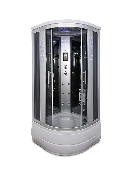 Corner Shower Sliding Door.Amazon Com Kokss Y8004 As Corner Steam Shower Room With