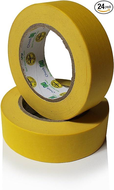 3m 1.5 inch yellow masking tape