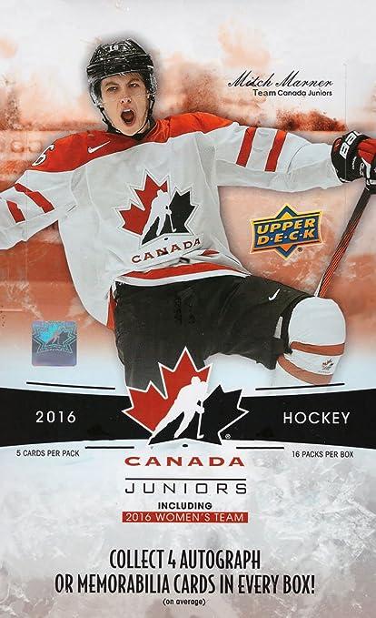2016 Upper Deck Team Canada Juniors Hockey Cards Hobby Box Trading