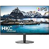 HKC モニター ディスプレイ 27 インチIPS/HD/6MS 超広視野角 VESA ブルーライト軽減 VGA+HDMI