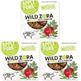 Apple Pork - (Sample) Meat and Veggie Bars (3-pack) are AIP snacks are made from all-natural pork and organic vegetables. They are nightshade-free, grain and gluten-free and nut-free.