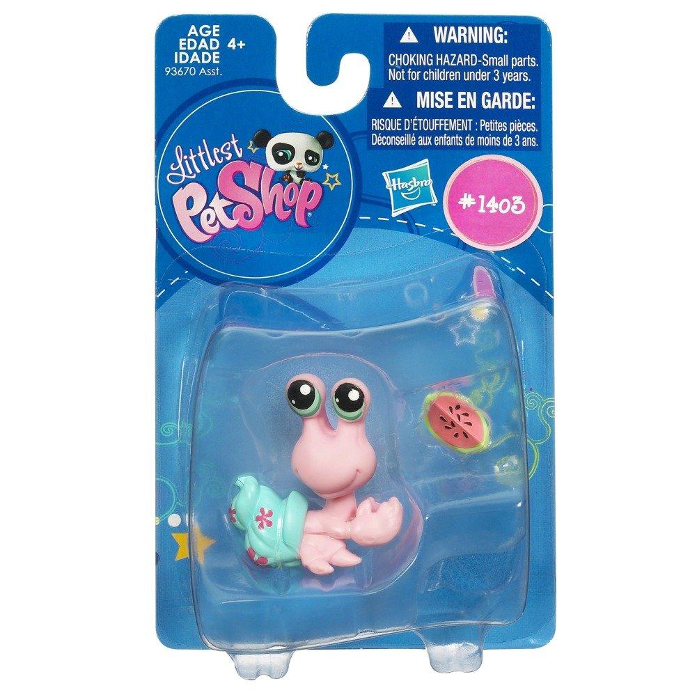 Littlest Pet Shop Get The Pets Single Figure Hermit Crab