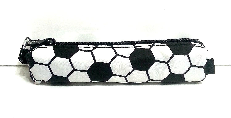 サッカースポーツZipチューブ鉛筆ポーチ~サッカー( 7.75