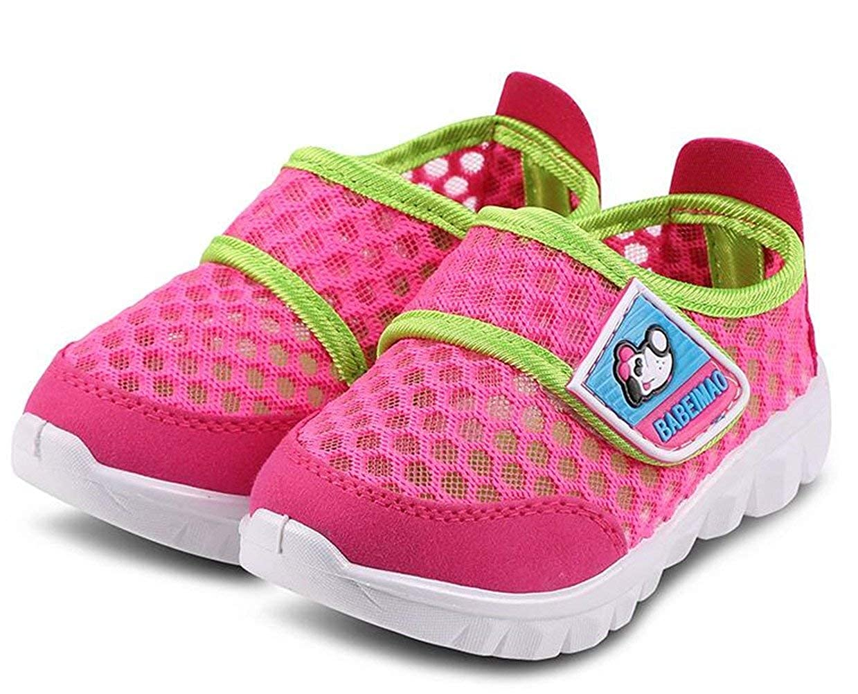 PRETTYHOMEL Babys Boys Girls Breathable Strap Light Weight Casual Sneakers Running Shoes
