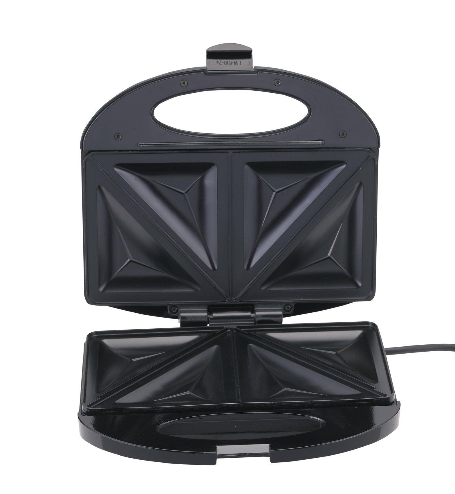 BLACK & DECKER TS 1000 220V Sandwich Maker 600W 220-240V (Not for USA), Black by BLACK+DECKER (Image #4)