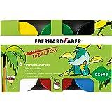 Eberhard Faber 578605 - Fingerfarbe Tabaluga, 50 ml, 6 Farbtöpfe