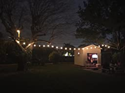 Amazon.com : Feit Electric 48ft / 14.6m Outdoor String Lights(48 Feet) : Patio, Lawn & Garden