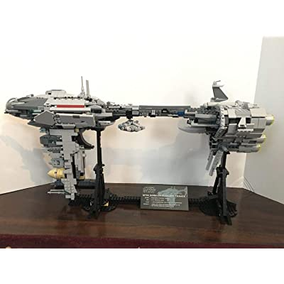 LEPlN Star Wars Nebulon Medical Frigate MyOwnCreation (MOC) Bricks: Toys & Games