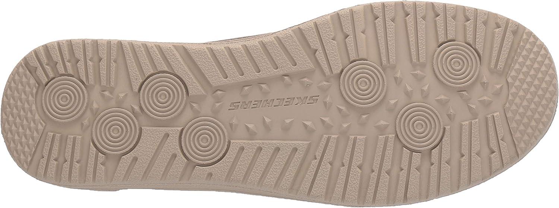 Skechers Melson Raymon Sneakers voor heren, wit Groene Khaki Canvas Khk