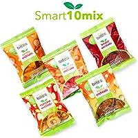 Smart Bites Surtido de Chips Enchiladas, Camote, Jícama, Betabel, Zanahoria y Manzana, 300 g