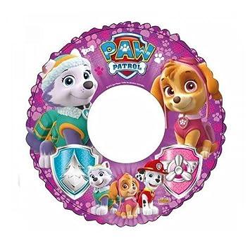 Patrulla Canina - Flotador Hinchable para niña (Saica 2217): Amazon.es: Juguetes y juegos